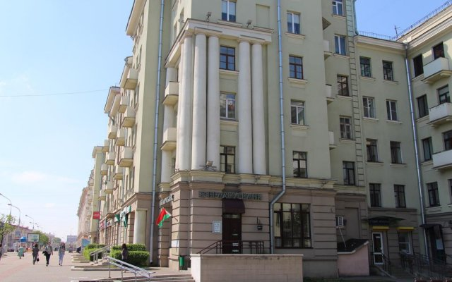 Loft Hostel Minsk вид на фасад