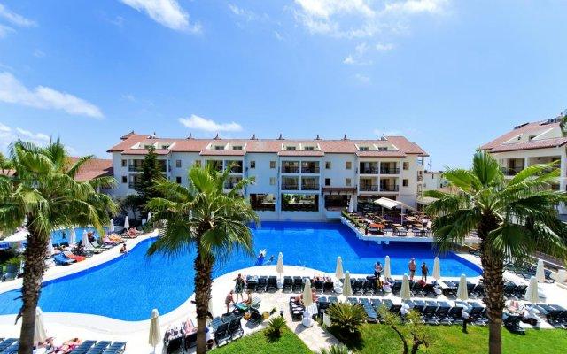Kentia Apart Hotel Турция, Сиде - отзывы, цены и фото номеров - забронировать отель Kentia Apart Hotel онлайн бассейн