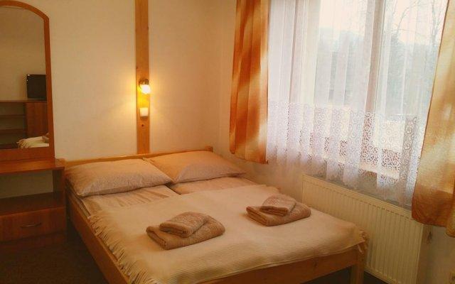 Отель Pokoje U Laskowych Косцелиско комната для гостей