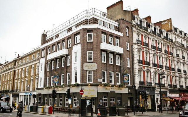 Отель The Pride of Paddington - Hostel Великобритания, Лондон - отзывы, цены и фото номеров - забронировать отель The Pride of Paddington - Hostel онлайн вид на фасад