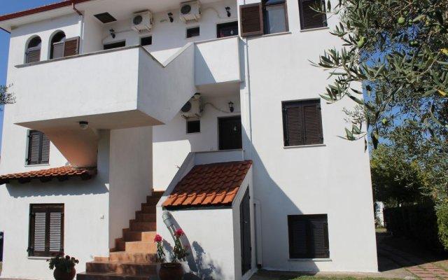 Апартаменты Ioannis Apartments вид на фасад