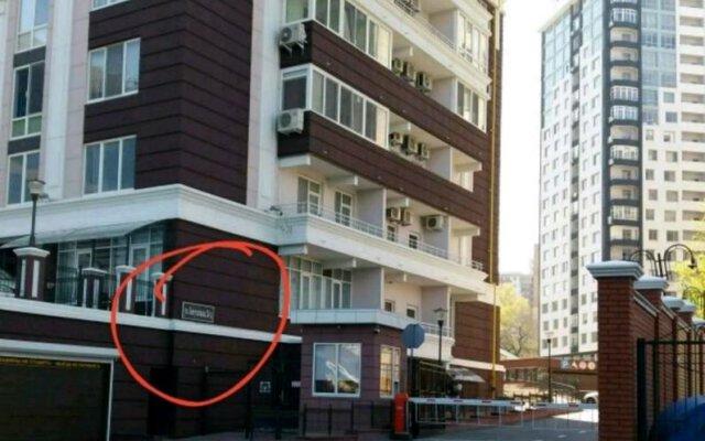 Гостиница Golfstream Odessa вид на фасад