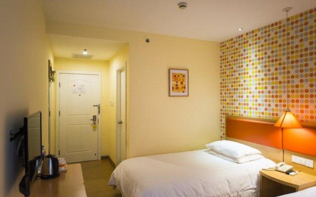 Отель Home Inn Beijing Drum Tower Jiaodaokou Китай, Пекин - отзывы, цены и фото номеров - забронировать отель Home Inn Beijing Drum Tower Jiaodaokou онлайн комната для гостей