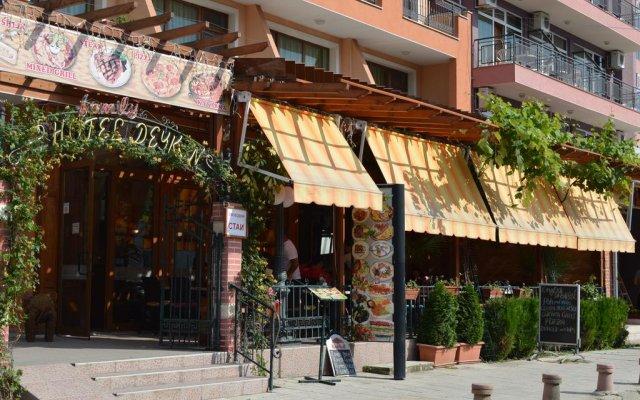 Hotel Deykin Солнечный берег вид на фасад