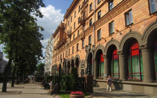 Отель Kvarthotelminsk Минск вид на фасад