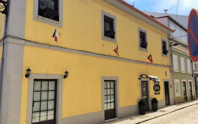 Отель The Capital Boutique B&B вид на фасад