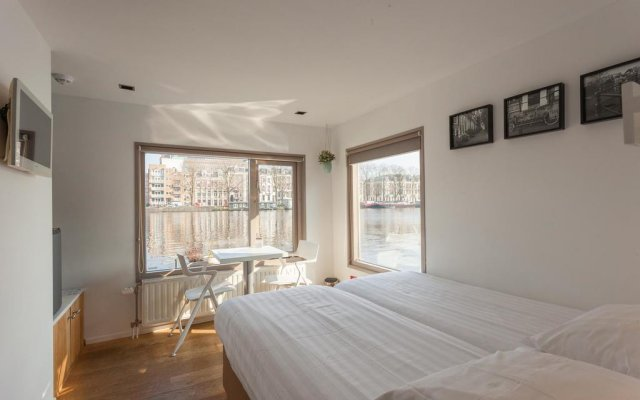 Отель Houseboat Little Amstel комната для гостей