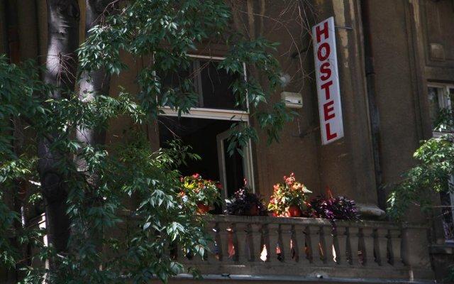 Hostel Sova Нови Сад вид на фасад