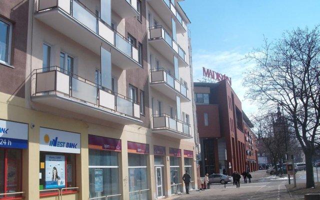 Отель Apartament Rajska вид на фасад