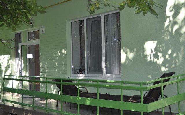 Гостиница Zeleny Kampus вид на фасад