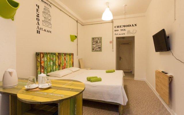 Hostel Chemodan Сочи комната для гостей