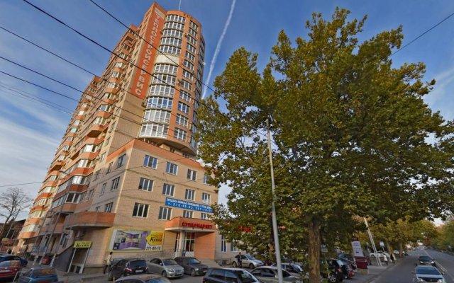 Гостиница on Zipovskoy 5 в Краснодаре отзывы, цены и фото номеров - забронировать гостиницу on Zipovskoy 5 онлайн Краснодар вид на фасад