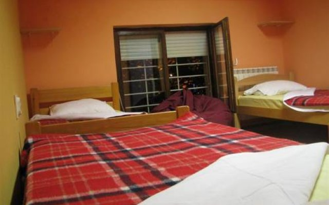 Star Hostel Belgrade комната для гостей