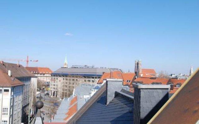 Отель Appartement-München балкон