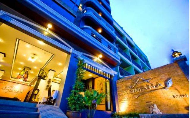 Отель Arimana вид на фасад