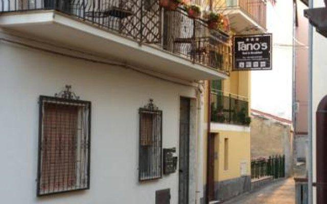 Отель Tanos b&b Джардини Наксос вид на фасад