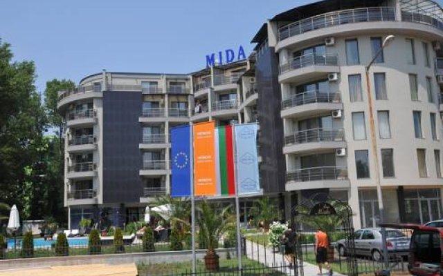 Apart Hotel MIDA вид на фасад