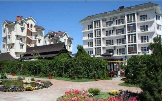 Гостиница Марина вид на фасад