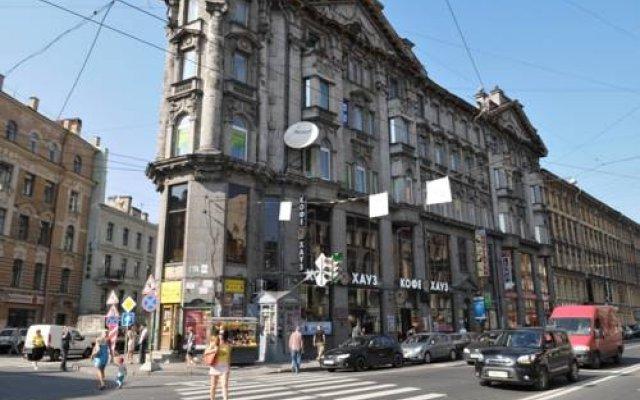 Гостевой дом Best Corner Санкт-Петербург вид на фасад