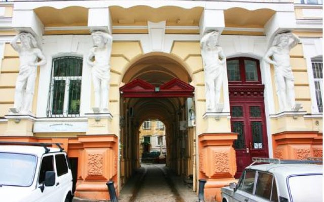 Апартаменты Sweet Home Apartments вид на фасад