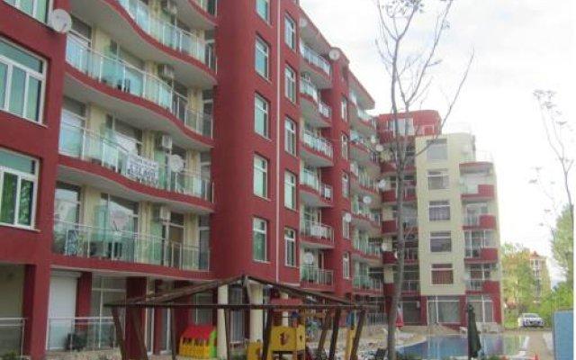Отель Global Ville Apartcomplex Солнечный берег вид на фасад