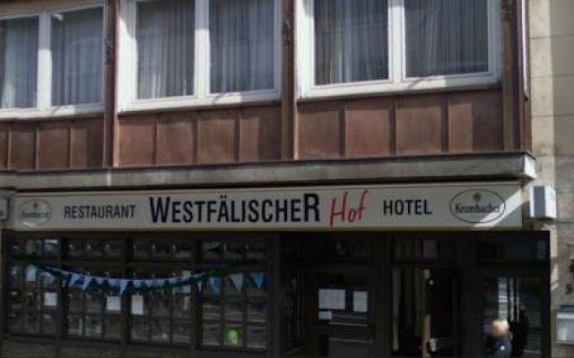 Hotel Westfalischer Hof вид на фасад