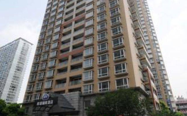 Rayfont Hotel South Bund Shanghai вид на фасад