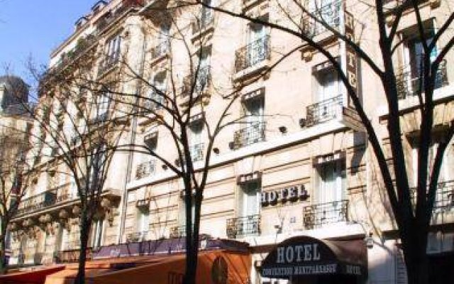 Hotel Convention Montparnasse вид на фасад