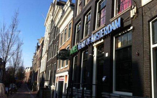 Отель Heart Of Amsterdam Амстердам вид на фасад