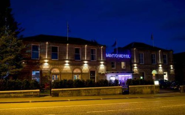 Отель MINTO Эдинбург вид на фасад