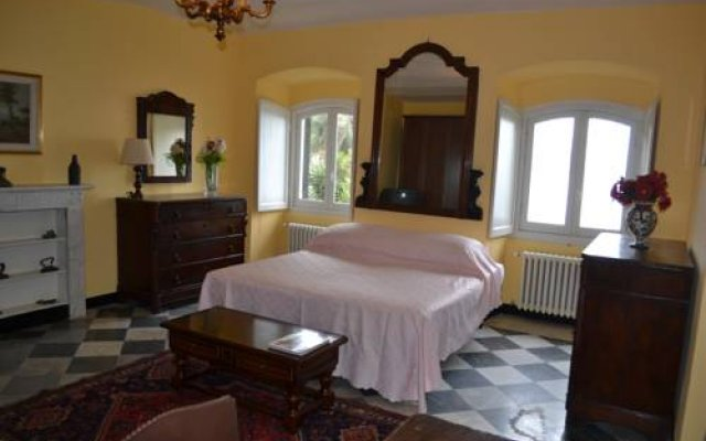 Отель Villa D'Albertis Генуя комната для гостей