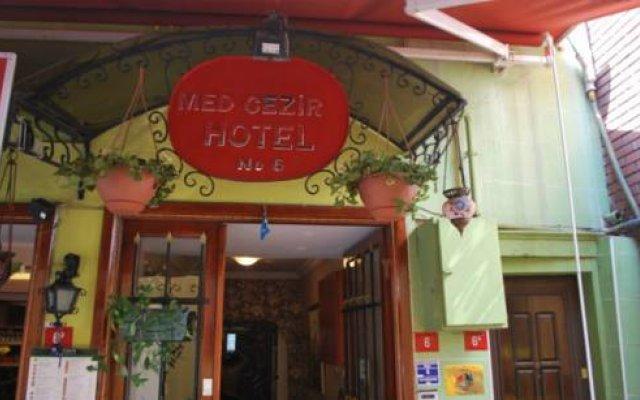 Med Cezir Hotel вид на фасад