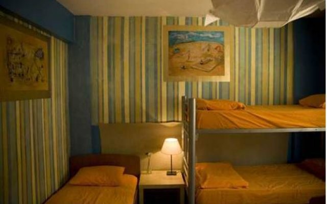 Stray Cat Hostel комната для гостей