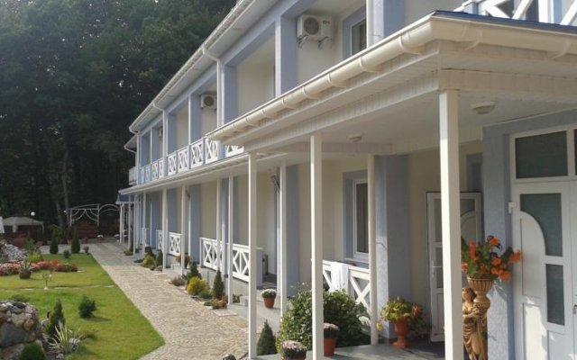 Гостиница Horinis вид на фасад