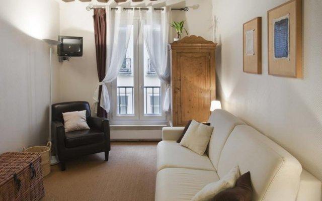 Отель Locappart Quincampoix Париж комната для гостей