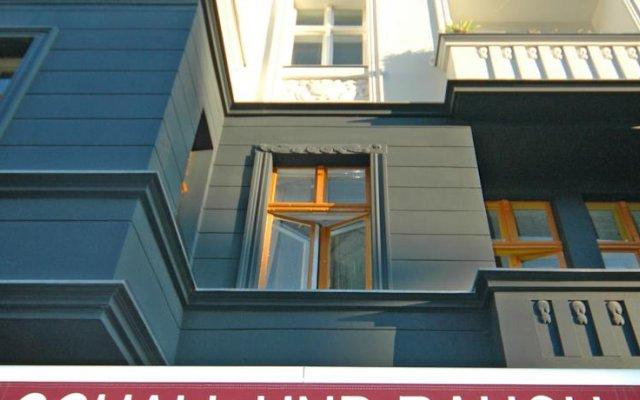 Отель Stadthotel Schall & Rauch вид на фасад