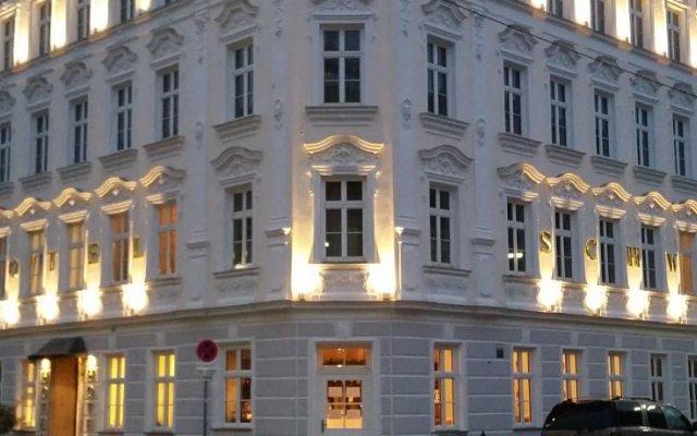 Hotel Schwalbe вид на фасад