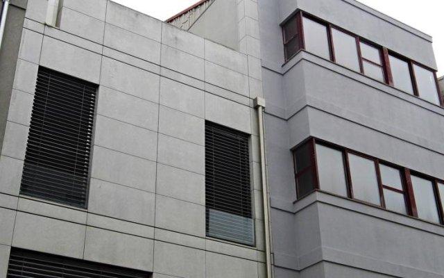 Апартаменты Miguel Bombarda Cozy Apartment вид на фасад