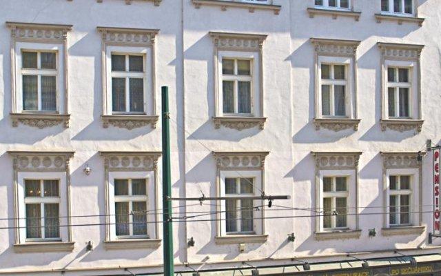 Апартаменты Alice Apartment House вид на фасад