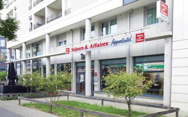 Отель Séjours & Affaires Lyon Park Lane вид на фасад