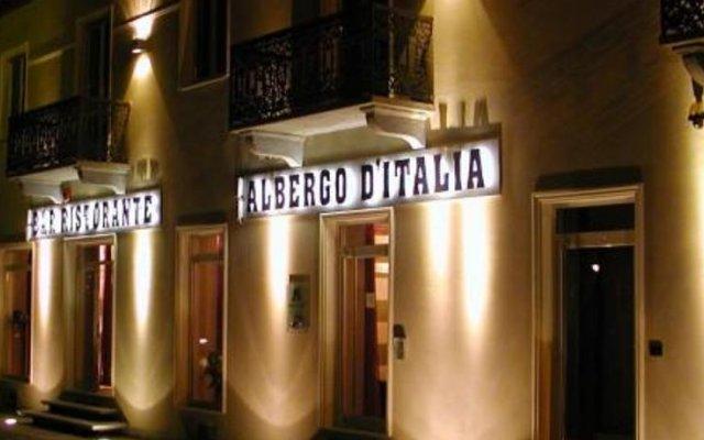 Отель Albergo D'italia вид на фасад