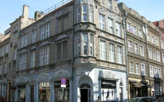 Отель Pokoje Stare Miasto вид на фасад