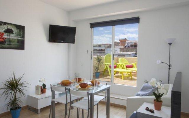 Апартаменты Teopenthouse Apartments Валенсия комната для гостей