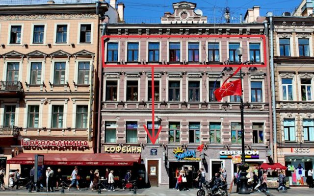 Гостиница Stayok On Nevsky вид на фасад