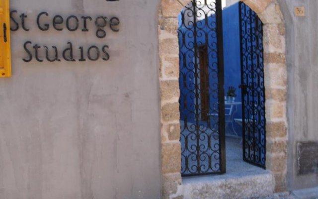 Отель Saint George Studios Греция, Родос - отзывы, цены и фото номеров - забронировать отель Saint George Studios онлайн вид на фасад