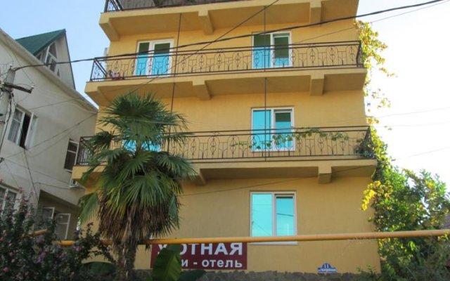 Гостиница Уютное в Сочи отзывы, цены и фото номеров - забронировать гостиницу Уютное онлайн вид на фасад