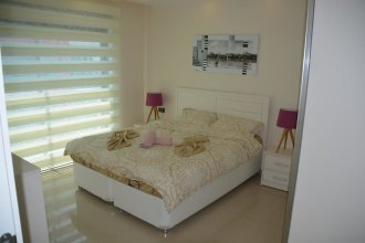 Luxury Apt in Konak Sea Side with a Sea front view and a private beach