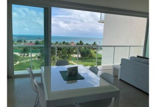 Beautiful apartment with 2 rooms for 6 people with sea view