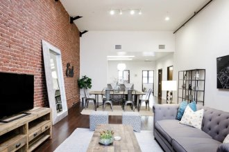 Penthouse Living at a Hip Renovated Loft in the Heart of LA