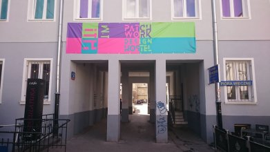 Patchwork Design Hostel